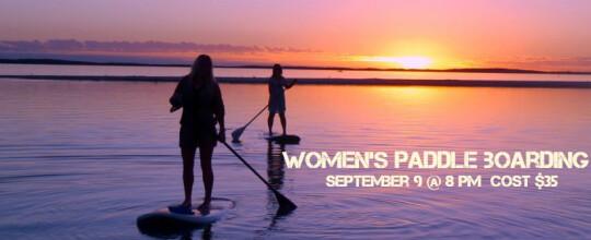 Women's Paddle Boarding