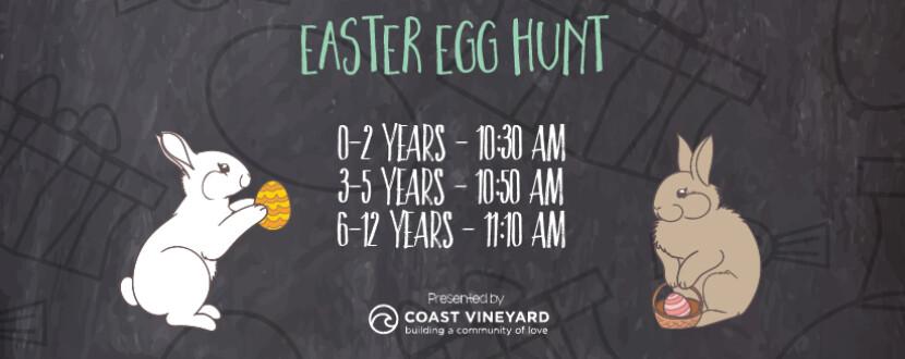 web banner easter egg hunt